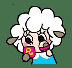 Sheep of ROCHER sticker #4774836