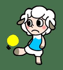 Sheep of ROCHER sticker #4774838