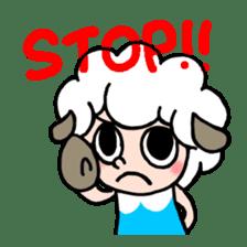 Sheep of ROCHER sticker #4774846