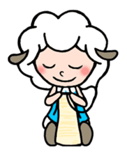 Sheep of ROCHER sticker #4774857