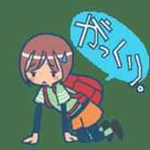 """mountain girl """"WARASHICHYAN"""" sticker #4774946"""