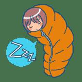 """mountain girl """"WARASHICHYAN"""" sticker #4774957"""
