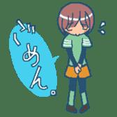 """mountain girl """"WARASHICHYAN"""" sticker #4774964"""