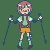 """mountain girl """"WARASHICHYAN"""" sticker #4774972"""