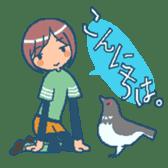 """mountain girl """"WARASHICHYAN"""" sticker #4774977"""