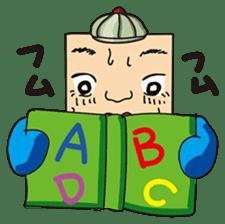 GoGo!! Kokubo-kun14 Study abroad! sticker #4775864