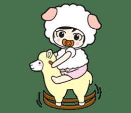 My Baby Sheep Kiana sticker #4776424