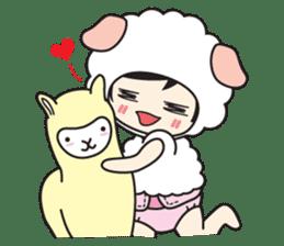 My Baby Sheep Kiana sticker #4776428