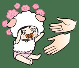 My Baby Sheep Kiana sticker #4776431