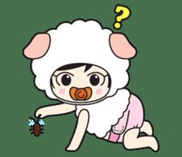 My Baby Sheep Kiana sticker #4776433