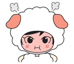 My Baby Sheep Kiana sticker #4776434