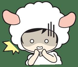 My Baby Sheep Kiana sticker #4776439