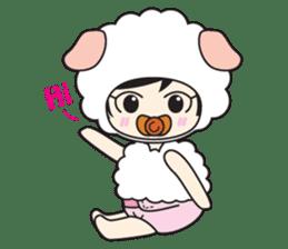 My Baby Sheep Kiana sticker #4776440