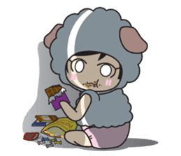 My Baby Sheep Kiana sticker #4776442
