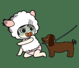 My Baby Sheep Kiana sticker #4776444