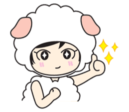 My Baby Sheep Kiana sticker #4776448