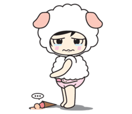 My Baby Sheep Kiana sticker #4776450