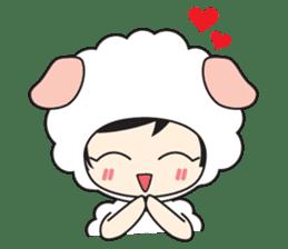 My Baby Sheep Kiana sticker #4776451