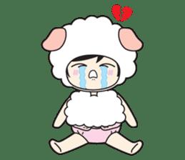 My Baby Sheep Kiana sticker #4776454