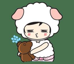 My Baby Sheep Kiana sticker #4776459