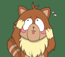 """Junk raccoon dog """"TERESUKE"""" sticker #4776585"""