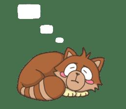 """Junk raccoon dog """"TERESUKE"""" sticker #4776589"""