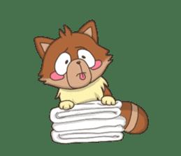 """Junk raccoon dog """"TERESUKE"""" sticker #4776593"""