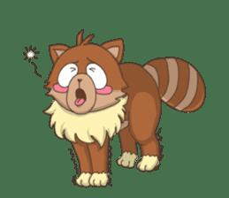 """Junk raccoon dog """"TERESUKE"""" sticker #4776597"""
