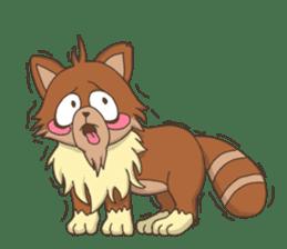 """Junk raccoon dog """"TERESUKE"""" sticker #4776599"""