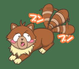 """Junk raccoon dog """"TERESUKE"""" sticker #4776621"""