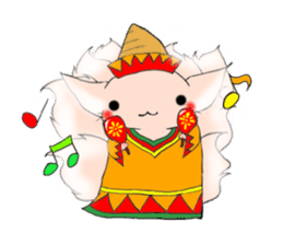 the Nine-tailed cat sticker #4776705