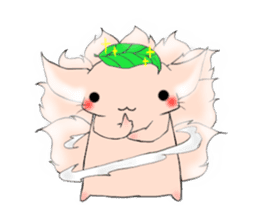 the Nine-tailed cat sticker #4776729