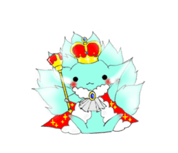 the Nine-tailed cat sticker #4776730