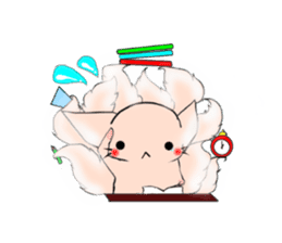 the Nine-tailed cat sticker #4776732