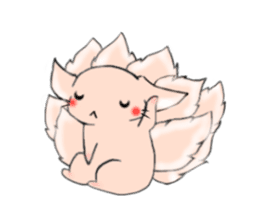 the Nine-tailed cat sticker #4776733