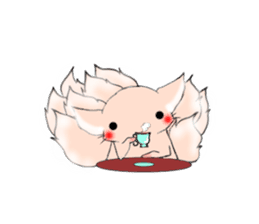 the Nine-tailed cat sticker #4776736