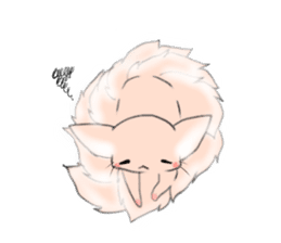 the Nine-tailed cat sticker #4776737
