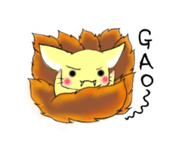 the Nine-tailed cat sticker #4776741