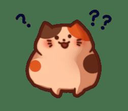 Marshmallow cats sticker #4777064