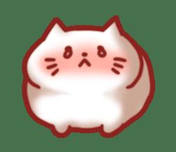 Marshmallow cats sticker #4777067