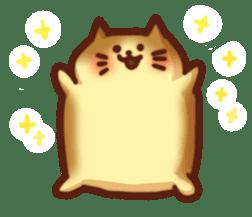 Marshmallow cats sticker #4777070