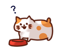 Marshmallow cats sticker #4777073