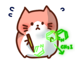 Marshmallow cats sticker #4777075