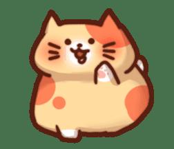 Marshmallow cats sticker #4777078