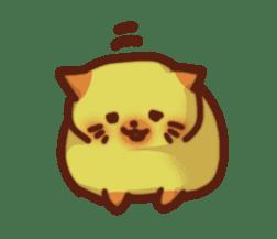 Marshmallow cats sticker #4777080