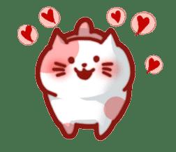 Marshmallow cats sticker #4777081