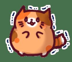 Marshmallow cats sticker #4777082
