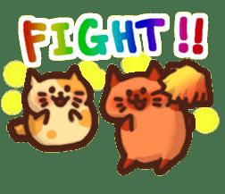 Marshmallow cats sticker #4777087