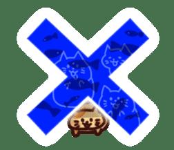 Marshmallow cats sticker #4777090