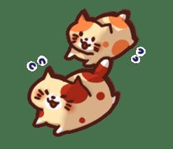 Marshmallow cats sticker #4777091